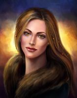 Enchantress of North Portrait by Kceon