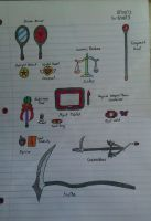 Magical Items and Weapons by Hellion92