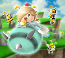 (Commission) Rosalina Queen Bee TF by TF-Shopper