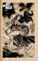 Wonder Woman by mistermoster