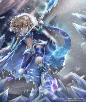 Commission - Crystal Maiden by ChubyMi