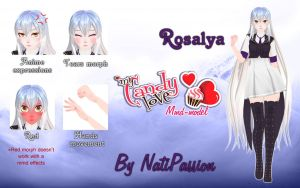 MCL - Rosalya MMD model DL by Natipassion