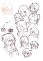 Demon Eye Character sketches by Rikki-the-Great
