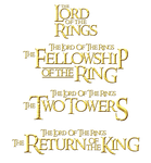 title the lord of the rings 2 by maffo1989