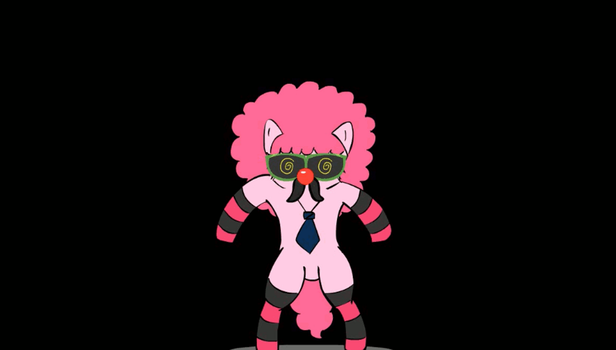 Your Sanity is Mine! Afro Pony! GIF by Stalebagel