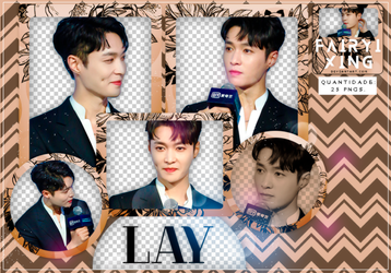 [PNG PACK #792] Lay - EXO (180517) by fairyixing