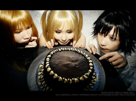 Death Note: Cake is Love by slumberdoll