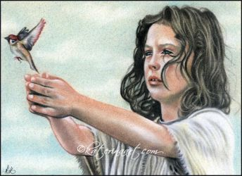 The young messiah by Katerina-Art
