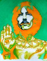 hare krishna - george harrison by ringosfoxy