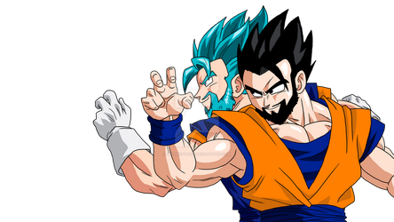 What If - Gohan and Vegetto by MalikStudios