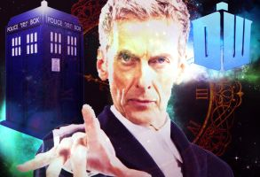 Doctor Who - Twelfth Doctor - Peter Capaldi by Skrillexia-TF