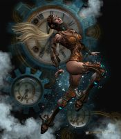 Steampunk Voyager by Kachinadoll