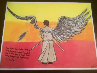Castiel - Angel of the Lord by YukisTwin1212