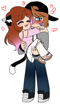Nicligah~ Carry Me! by blucloud-zz