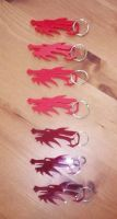 Dragon Key Chains by JasonYoungdale