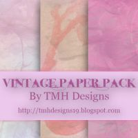 Vintage Paper Pack by frenzymcgee