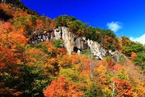 White Mountain Cliff by Celem