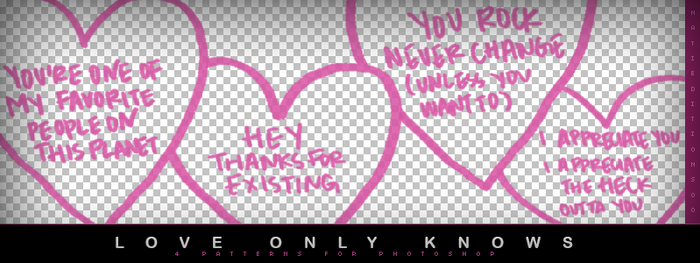 + Love Only Knows (4 BRUSHES) by natieditions00