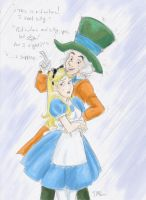 Alice+Hatter - In The Rain by Tell-Me-Lies