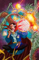 Doctor Strange Colors by CrisstianoCruz
