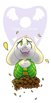 [Undertale] Thank you, Frisk. by Kwiwo