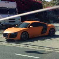 Orange R8 by JoshuaCordova