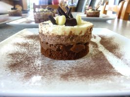 Mousse 3 chocolats individuels by chookki