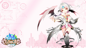 Elsword Eve Wallpaper by TopHatea