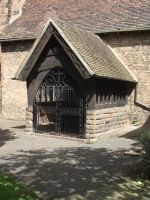 Church entrance by ditney