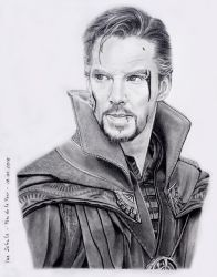 Benedict Cumberbatch - Doctor Strange by shaman-art
