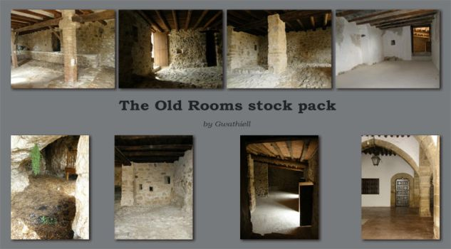 Spain W16 The Old Rooms Pack by Gwathiell