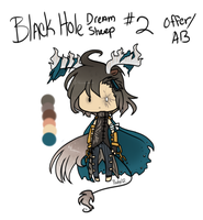 :Adopt: Black Hole Dream Sheep 2 -CLOSED- by oddlittleleaf