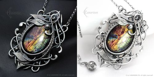 NANTHZIR - Silver and Labradorite by LUNARIEEN