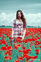 Into the Wild Red 3 by Michela-Riva