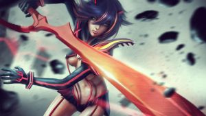 KILLA MOVES RYUKO - Kill La Kill by Eddy-Shinjuku