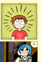 Page 165 in colour [Scott Pilgrim Vol 5] by Pro-Ice
