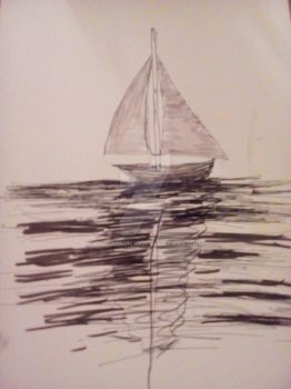 sail on the sea /white paper by ciucamona