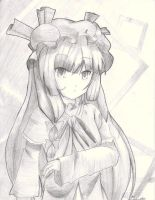 Patchouli Knowledge BW by Banzatou