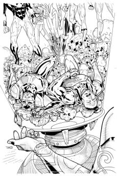 Jl3001-6 Cover inks by timothygreenII