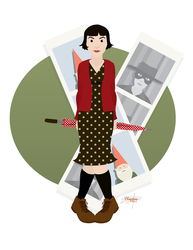 Amelie Poulain by JackAbsinth