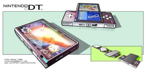 Nintendo DT handheld concpet by Cmr8286