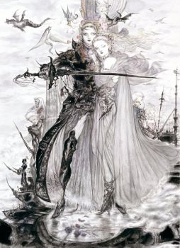 Final Fantasy V by Amano by Shadowslabs