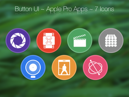 Button UI ~ Apple Pro Apps by BlackVariant
