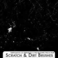 Scratches and Dirt Brushes by h0ttiee