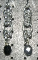 Chainmaille Earring 95 by Des804