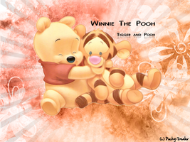 Tigger and Pooh by Pocky-Dealer