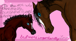 To: Mom - Iscribble Collab by SodaHorse73