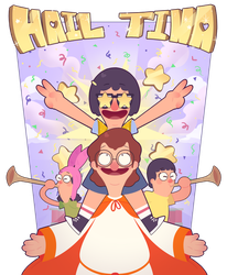 All Hail Tina by KrystalFleming