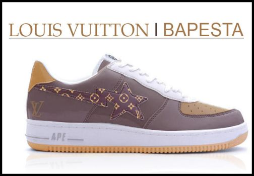 Louis Vuitton vs Bapesta by Markhead