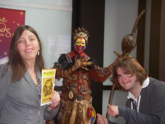 NYC- Broadway Lion King Rafiki Costume by Kabuki-Sohma